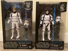 Star Wars Black Series Han Stormtrooper #09 And Luke #12 Stormtrooper Disguise