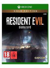 XBOX One gioco Resident Evil 7 ORO Edition Merce Nuova