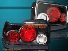 1993-1997 Toyota Corolla JDM Black Tail Lights 2 PCS Set 94 95 96