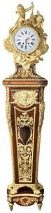 French Louis XV Style Ormolu Grandfather Clock