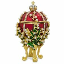 1898 Lilies of the Valley Faberge Egg 3.5""