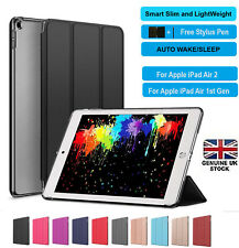 Smart Stand Folding Magnetic PU Leather Slim Case Cover for Apple iPad AIR 1 2