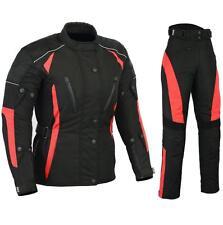 GMA Traje de moto Chaqueta y pantalones Cordura Señoras tamaño disponible Sa 3XL