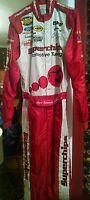 2004 Carl Edwards Superchips NASCAR Nextel Cup Rookie Fire Suit Drivers Suit
