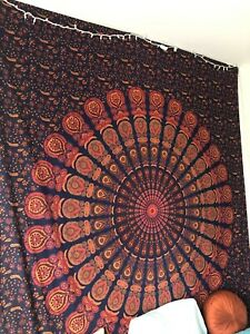 Urban Outfitters Mulitcolor Mandala Tapestry Boho and Hippie Decor
