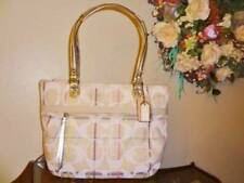 NWT  Coach PoPPy Tattersall Sequin Plaid Glam Tote Purse Handbag 19871