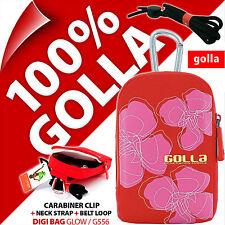 Golla Universal Kompakt Digital Kameratasche+ für Fuji Sony Samsung