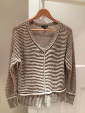 Eileen Fisher Gorgeous Knit Jumper 50% Yak/50% Wool, Size L, Good Condition