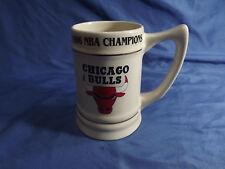 Vintage 1996 Chicago Bulls Decorative Large Mug 4-time NBA Champs!
