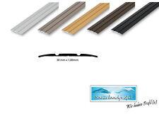 38 mm Übergangsprofil flach Teppichschiene Tür Schweller Laminat Parkett Profil