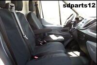Housses Couvre Sieges Noir Pour Ford Transit Custom 2013 +