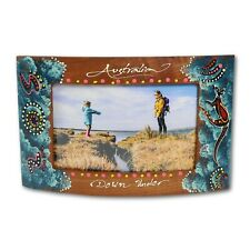 Wooden Curve Family Picture Frame House Warming Gifts, Australian Souvenirs