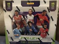 1-Sealed Pack 2020-21 Panini Prizm Premier League Soccer Hobby- SHIPS FAST