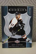 JEFF CARTER 2005-2006 NHL ARTIFACTS ROOKIE CARD /750 - L.A. KINGS  - MINT!