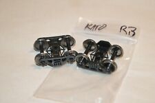 """Ho scale Parts freight car trucks plastic Athearn Genesis Roller Bearing 36"""" Mw"""