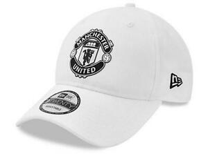 Manchester United FC New Era 920 White Crest Cap - Authentic EPL