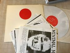 RED SPOT COMP LP '81 MINIMAL MAN WOUNDZ SYNTH w/17 inserts fried abortions sfwav