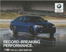 2018 Johan Schwartz BMW M5 World Record Drifting postcard