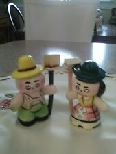 vintage lefton salt and pepper shakers  EXC. Cond.