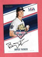 2018 Bryce Tucker Panini Stars & Stripes Rookie Auto /499 - San Francisco Giants