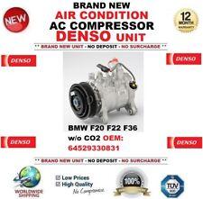 DENSO AIR CONDITION AC COMPRESSOR for BMW F20 F22 F36 w/o CO2 FEO: 64529330831