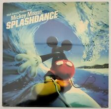 WALT DISNEY PRODUCTIONS' MICKEY MOUSE SPLASHDANCE LP 1983 FACTORY SEALED 62520