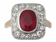 Ruby Rose Gold 18k Fine Rings