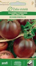 TOMATO BOMBONERA H Seeds Delicious Round Dark Red Fruits Desease Resistant