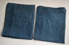 Eddie Bauer Home Pillow Shams Denim Lot of 2 Free Shipping!