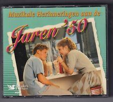 CD : Muzikale Herinneringen Van De Jaren '50 (5cd Box) Readers Digest