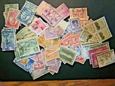Box O Lot of stamps off paper from Philippines