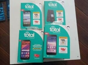 Total Wireless  4G LTE Prepaid Smart Phone- BRAND NEW ! LOCKED-YOU CHOOSE-