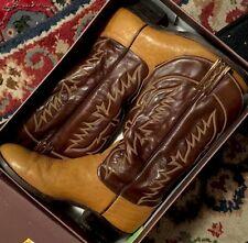USA 10D /  CLASSIC TONY LAMA VINTAGE ORIGINAL WESTERN COWBOY BOOTS