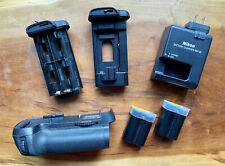 Genuine Nikon MB-D12 Multi Power Battery Pack grip with MH-25 wall charger
