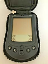 Vtg Palm Pilot M100 Handheld Pda Original Pocket Organizer with Body Glove Case