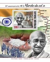 Togo Mahatma Gandhi Stamps 2020 MNH Salt March Historical Figures People 1v S/S