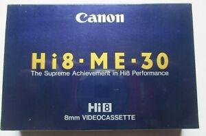 CANON - Hi8-ME-30 - 8mm Video Cassette - New & Sealed
