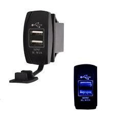 Dual Port uscita USB 5v Caricatore del telefono per camion SAND Rail Auto Buggy UTV Trattore