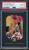 PSA 10 MICHAEL JORDAN 1995-96 SKYBOX E-XL Chicago Bulls HOF GOAT RARE GEM MINT