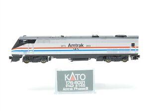 N Scale KATO 176-6021 AMTK Amtrak Phase III Heritage Diesel #145 Does Not Run