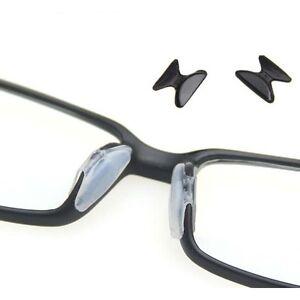 5 paia 2.5mm Vogue antiscivolo in silicone Stick sul pad naso per occhiali ZZIT