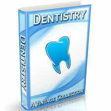 Dentistry Books 37 Vintage Books on DVD Dentist Surgeon Hygienist Tooth Care