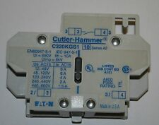 Cutler-Hammer C320KGS1 Freedom Series Auxilary Contacts 1 NO