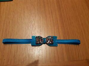 Babies Blue Headband 6-12 months( last one )