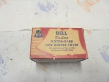 cardboard box bell de luxe motor gard fuse holder cover cat no 654 bell electric