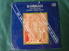 RIVERSIDE CHAMBER SINGERS: Madrigals across centuries - LP MONO MUSIC GUILD 107