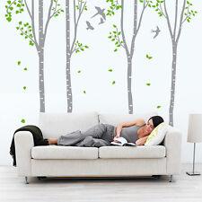01413 Wall Stickers Adesivi Murali parete decoro muro piante Alberi 93x170 cm