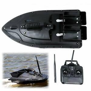 500M Wireless RC Fishing Bait Boat Speedboat 2 Motors Single Hand Control