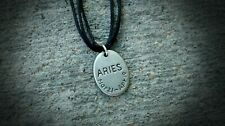Zodiac Sign Aries Pendant Necklace