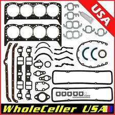 Engine Overhaul Gasket Set Fits 55-79 Small Block Chevy SBC 283 327 Sealed Power